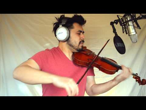 Radioactive - Imagine Dragons - (dubstep Violin Cover By David Wong) video