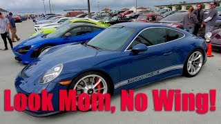 Porsche 911 GT3 Touring At South OC Cars and Coffee