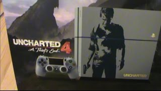 Unboxing (Abriendo) PS4 Bundle Uncharted 4 Limited Edtion