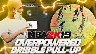 OVERPOWERED DRIBBLE PULL UP MUST BE PATCHED ON NBA 2K19 | ONLY 1% KNOW ABOUT THIS GLITCH SHOT