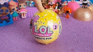 LOL Surprise CONFETTI POP Serie 3 [Unboxing italiano]