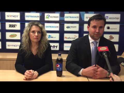 Tisková konference Petra Frňky po utkání se Slovanem Liberec (3:3)