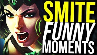I'M COVERED IN BEES! (Smite Funny Montage)