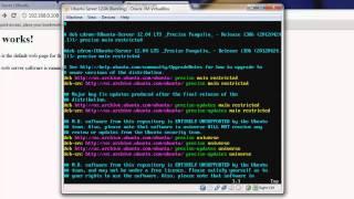 Ubuntu Web Server from scratch, free web hosting (LAMP, FTP, Webmin, PHPMyAdmin, SSH) [HD]