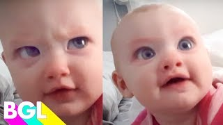 50 of the Funniest Babies | Try Not to Laugh | BGL