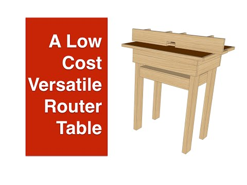 A Low-cost Versatile Router Table