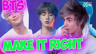 [BTS - Make It Right] Comeback Special Stage | M COUNTDOWN Реакция | Реакция на Bts Make It Right
