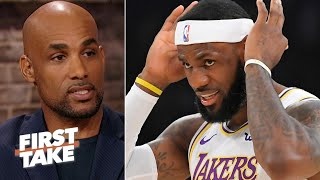 Boris Kodjoe: The NBA MVP race will be a battle between LeBron and Steph Curry | First Take