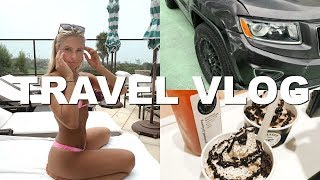 VLOG: packing, car accident & traveling to Laguna Beach!