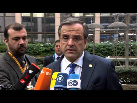 Samaras: We must tackle illegal immigration in EU