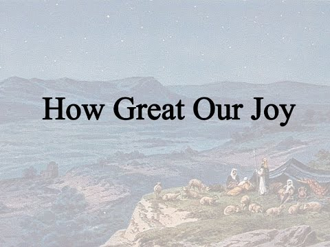 Theodore Baker - How Great Our Joy