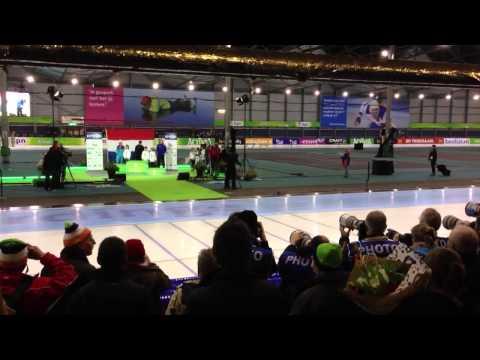 Stefan Groothuis wint het NK Sprint