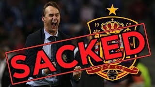 World Cup 2018: Spain SACK Manager One Day Before World Cup