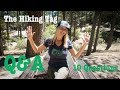 The Hiking Tag Q&A from Idyllwild, CA.