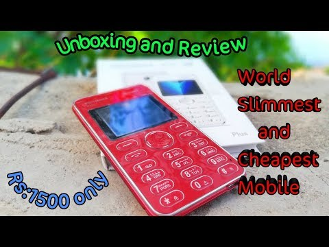 Kechaoda K115 Card Size mobile Review videominecraft ru