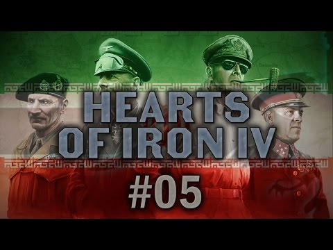Hearts of Iron IV #05 OH DEARS Persia Rising, Iran - Let's Play