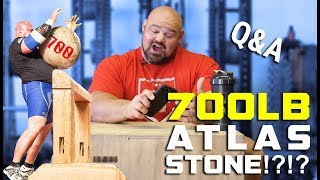 LOADING A 700LB ATLAS STONE | QUESTION AND ANSWER | BRIAN SHAW