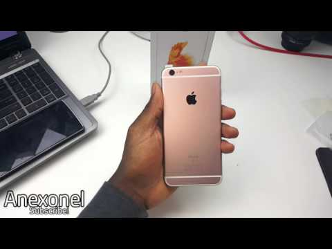 Fake iPhone 6s Plus (Rose Gold) Unboxing - MTK6735 [4K]