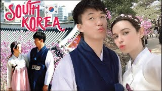 [AMWF] KOREA vlog 🇰🇷 스페인여자친구의 한국방문기 // SPANISH GIRLFRIEND'S FIRST TIME IN KOREA