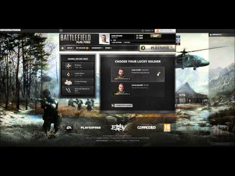 Battlefield Play4Free Redeem Codes [February 2013] EXPIRED 2/14/2013 ! German/English
