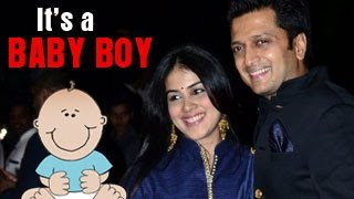 Riteish Deshmukh & Genelia DSouza blessed with a BABY BOY