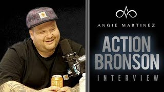 Action Bronson Talks Shaving His Beard, TV Show, + Beer Tastes w/ Angie