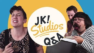 OG Studio C cast does Q&A challenge about JK! Studios