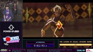 [SGDQ 2018] Skyward Sword Any% Speedrun in 5:04:52