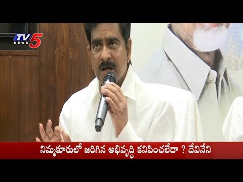TDP Minister Devineni Uma Fires On YS JaganMohan Reddy Over Pattiseema Project | TV5 News