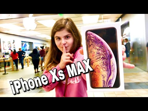 КУПИЛА СЕБЕ IPhone Xs MAX в Apple Store РАСПАКОВКА АЙФОНА Новый чехол на IPhone