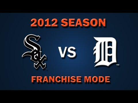 MLB 2K12: Chicago White Sox vs. Detroit Tigers – Franchise Mode