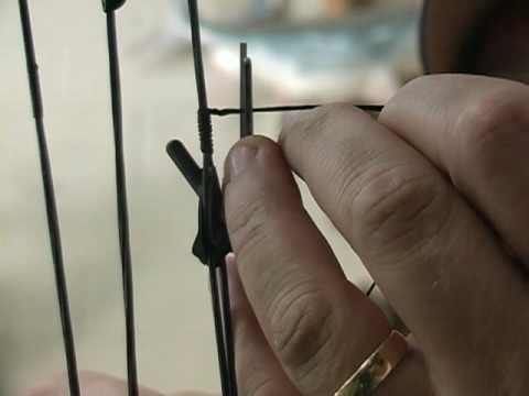 Bow Tuning Tips/ Peep Sight Tied In