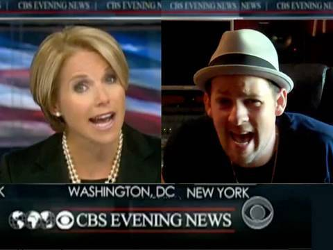 Joel Madden and Katie Couric Sing About Poppycock:  Auto-Tune the News #11.