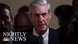 President Donald Trump Sharpens Attack On Robert Mueller | NBC Nightly News