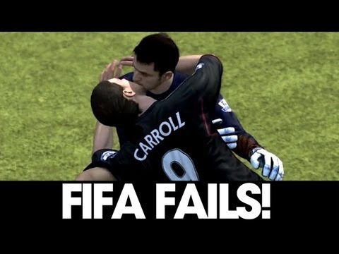FIFA 12 FAIL Compilation! #4 Music Videos