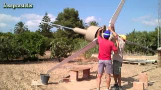 AEROGENERADOR EOLICO DE PASO VARIABLE-Video 5 WIND variable pitch
