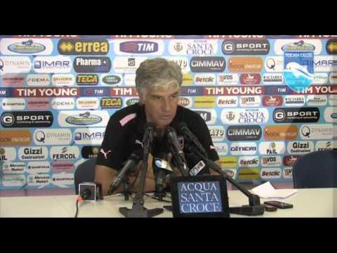 SALA STAMPA Pescara Palermo: Giampiero Gasperini