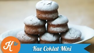 Resep Kue Coklat Mini (Mini Chocolate Cake Recipe Video) | JANE SUSANTO