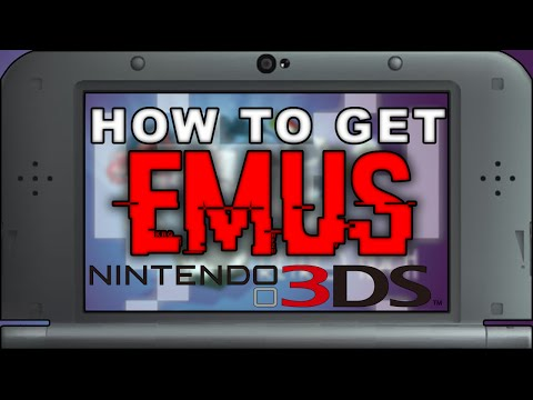 Retroarch: How to Get EMULATORS on Nintendo 3DS - SNES. GBA. PSX. NES. GENESIS and More!