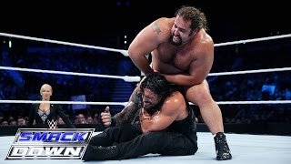 Roman Reigns vs. Rusev: SmackDown, Aug. 6, 2015