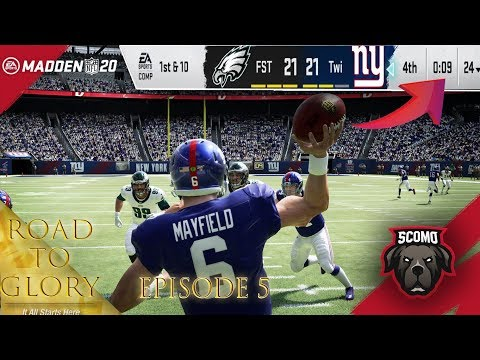 You Got To See This! Last Play Of The Game! Road To Glory Episode 5 - Madden 20 Gameplay