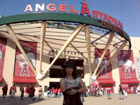 nuh sa Angel Stadium (Angels vs. Texas Rangers) Video
