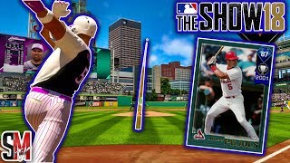 Huge Home Run! Double Debut! Albert Pujols & Mike Scott - MLB The Show 18 Gameplay