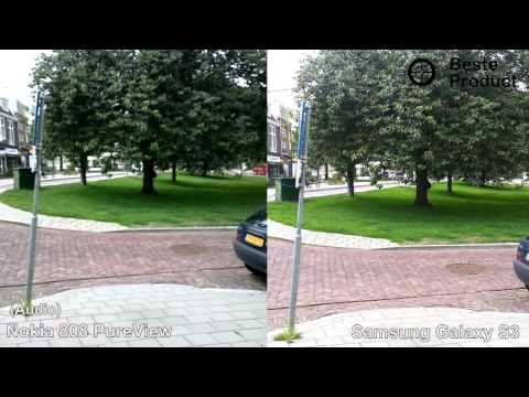 Nokia 808 Pureview vs Samsung Galaxy S3 / Testvideo (BesteProduct)