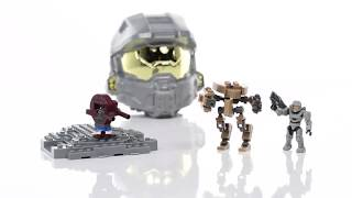 Halo Mega Bloks Set 97270 Micro Fleet Helmet: Mantis Invasion