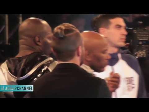 Full Ring Entrances - Joseph Parker vs Carlos Takam - IBF heavyweight title challenger eliminator