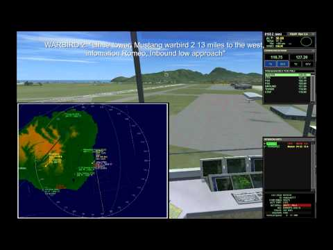Watch as i introduce who i am and what these videos are all about!! I talk about some ATC basics as we get light traffic around the field.
