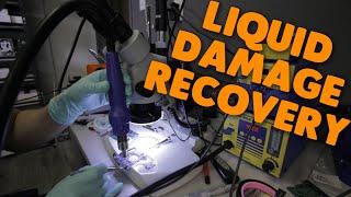 hard drive with liquid damage