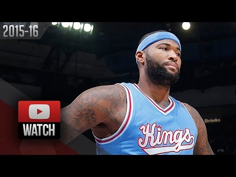 DeMarcus Cousins Full Highlights vs Nets (2015.11.13) - 40 Pts, 13 Reb, Beast Mode!
