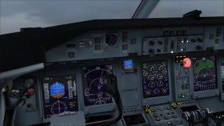 Q400 Flight BHX-JER Push/Start, Taxi & Takeoff